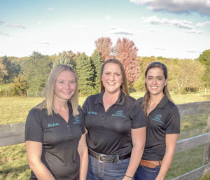 Johnson Equine Veterinary Services, Ltd. staff members